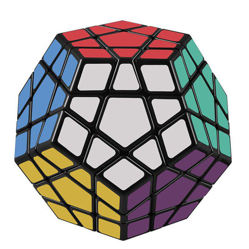 Megaminx 12 Sides Speed Cube Twisty 3D Puzzle Game Magic Brain Black 272297701