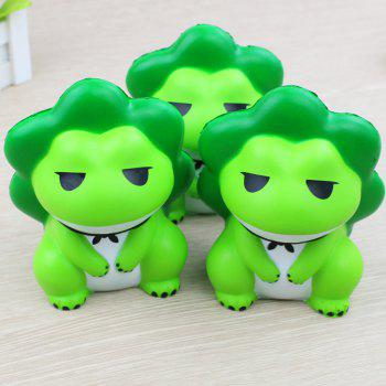 Jumbo Squishy Travel Frog Relieve Stress Toys - GREEN