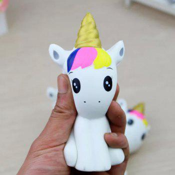 Jumbo Squishy Belle Licorne Soulager Stress Toys 1PC - multicolor A