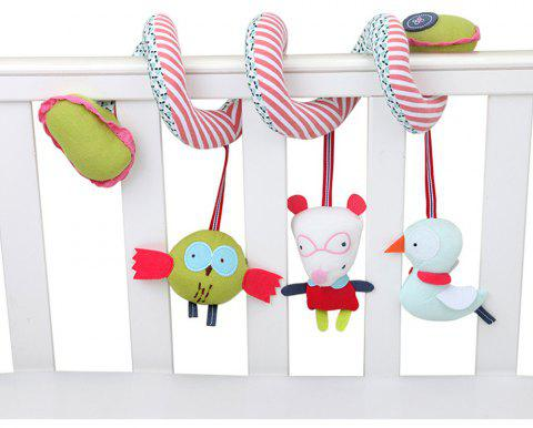 Baby Crib Revolves Around The Bed Stroller Playing Toy Crib Lathe Hanging - multicolor A