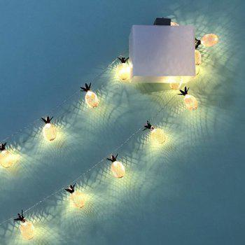 20Pcs LED Pineapple Fairy String Lights for Home Wedding Birthday Decoration - WARM WHITE