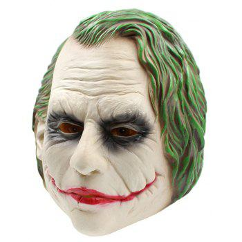 Chapeaux de latex de clown de simulation d'Halloween - multicolor