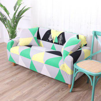 European-style Simple Elastic Sofa Cover - multicolor G SINGLE SEAT SOFA:90CM-140CM