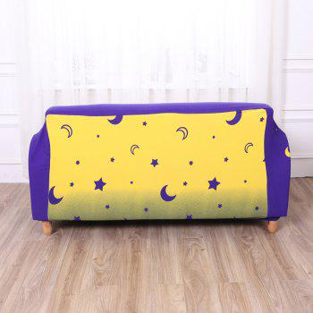 European-style Simple Elastic Sofa Cover - multicolor P THREE SEATS SOFA:190CM-230CM