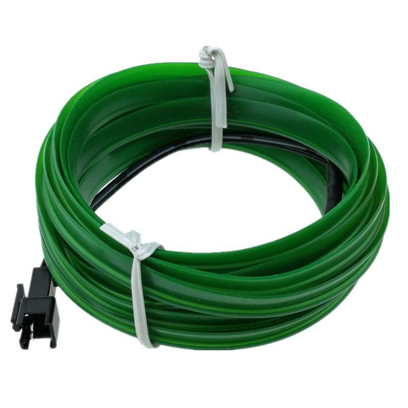 5m USB EL Wire Neon Light Kit for Halloween Christmas Party Decoration - GREEN APPLE