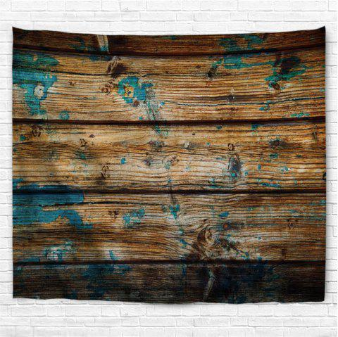 Blue Ink Board 3D Printing Home Wall Hanging Tapestry for Decoration - multicolor W203CMXL153CM