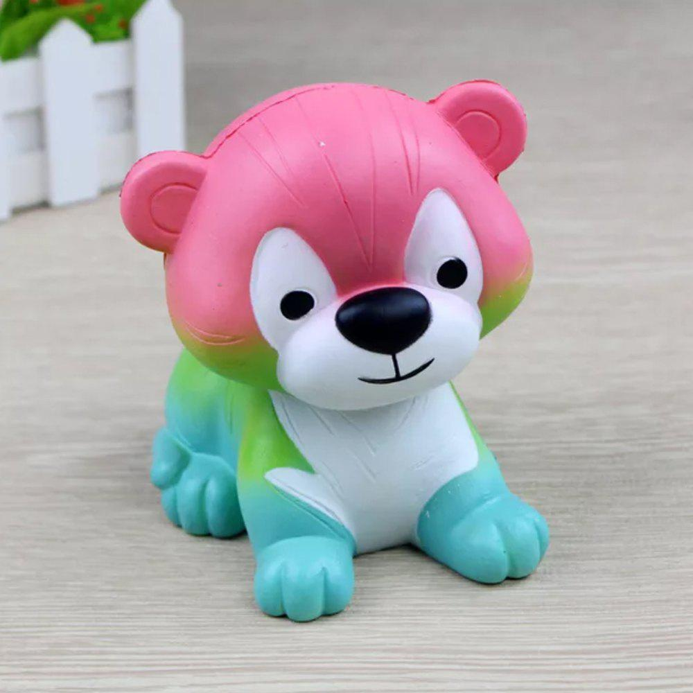 Jumbo Squishy Couleur Tiger Toys - multicolor D