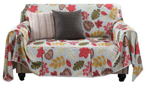 American Simple Style Sofa Dust Cover Cloth - multicolor A DOUBLE SEATS SOFA:215CM*260CM