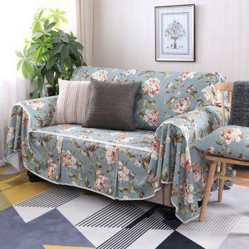American Simple Style Sofa Dust Cover Cloth - multicolor G THREE SEATS SOFA:215CM*300CM