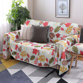 American Simple Style Sofa Dust Cover Cloth - multicolor A SINGLE SEAT SOFA:215CM*200CM