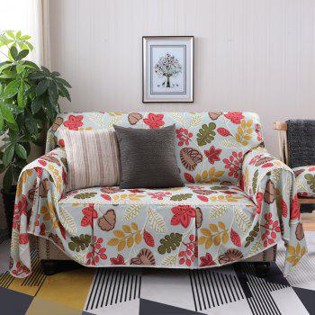 American Simple Style Sofa Dust Cover Cloth - multicolor A FOUR SEATS SOFA:215CM*350CM