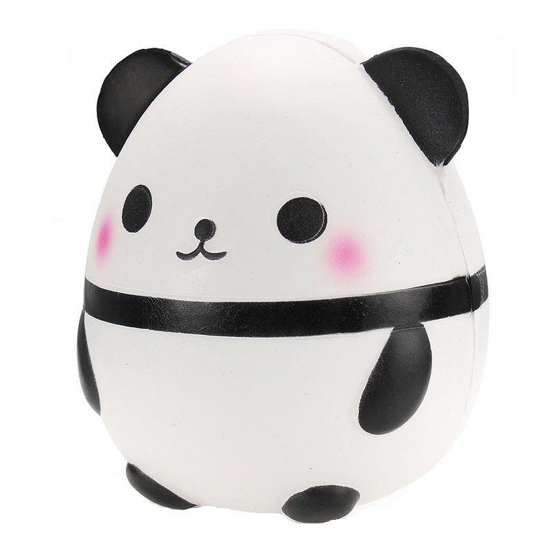 Jumbo Squishy Panda Doll Egg Slow Rising Soft Squeeze Toy - multicolor A