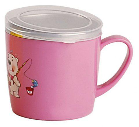 Weides ET-022 Children'S Cartoon Cup - CARNATION PINK 8CM