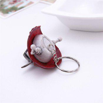 Halloween Creative   Keychain Ornaments - DARK GRAY