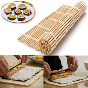 Healthy Japan Home DIY Kitchen Rice Roll Maker Bamboo Sushi Mat - BLANCHED ALMOND