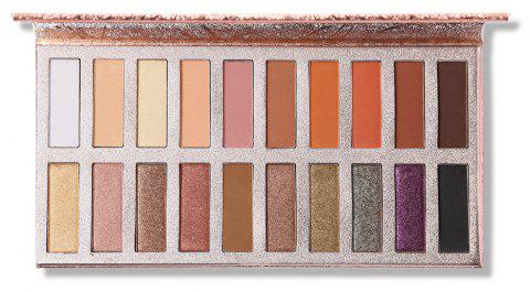 20 Colors Matte Shimmer Shining Eyeshadow Palette - 002