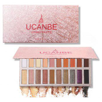 20 Colors Matte Shimmer Shining Eyeshadow Palette -