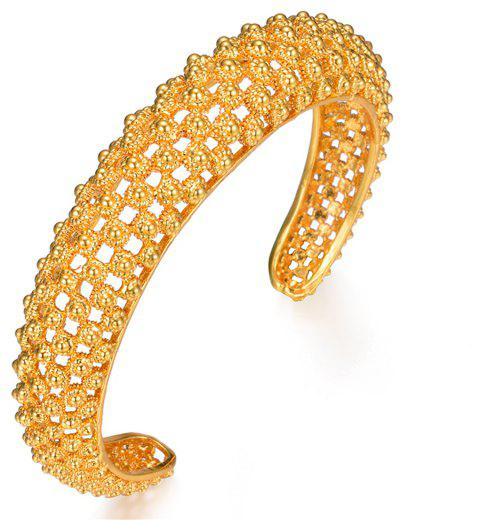 Open Bangles For Women Bracelet Jewelry - YELLOW