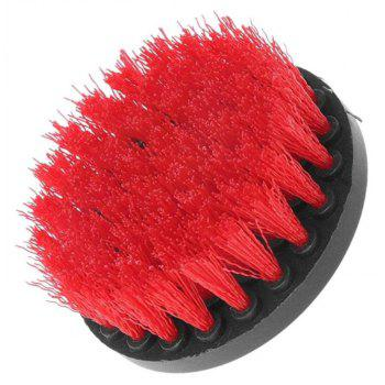 4-in-1 Electric Drill Brush Head - RED