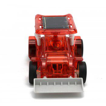 Solar Powered Bulldozer Teaches Science - RED