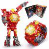 Kids Transformers Rescue Bots Toys 2 in 1 Digital Robot Watch - FERRARI RED