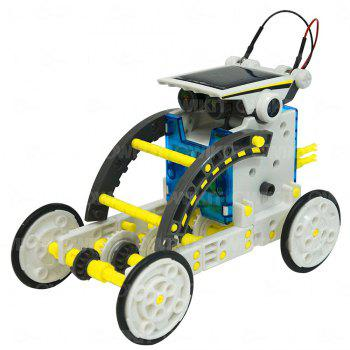 14-in-1 Solar Robot - multicolor A