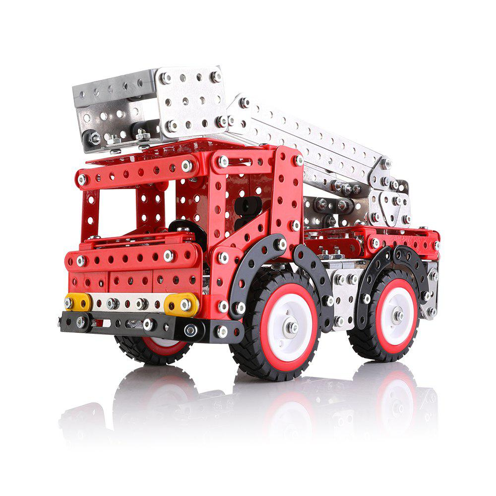 ESW-016 Alloy Block Splicing Lift Truck - RED 1PC