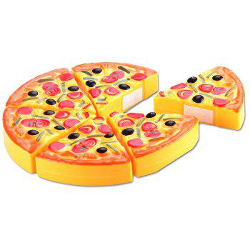 Simulation of Pizza Cutting Toys - multicolor