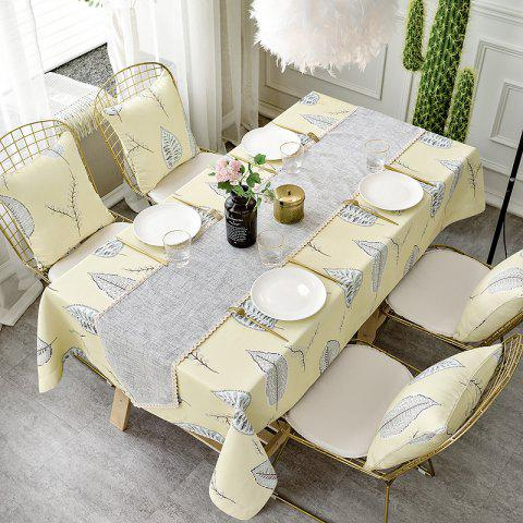 Double-Faced Tablecloth with Modern and Simple Style - multicolor A 90CMX90CM
