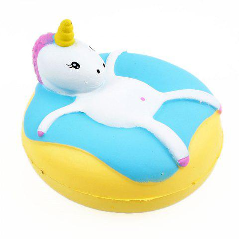 Unicorn Donut Jumbo Squishy Slow Rising Packaging Collection Gift Soft Toy - CELESTE