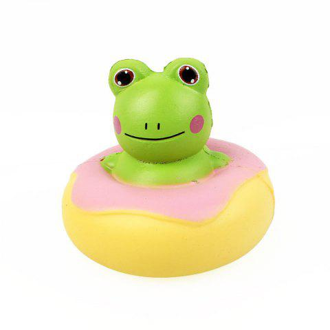 Frog Jumbo Squishy Slow Rising Packaging Collection Gift Soft Toy - GREEN