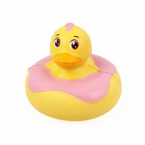 Duck Jumbo Squishy Slow Rising Packaging Collection Gift Soft Toy - YELLOW