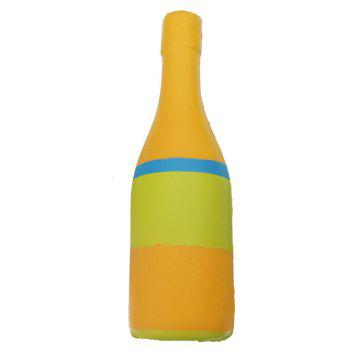 Jumbo Squishy Yellow Beer Bottle Slow Rising Soft Collection Gift Decor Toy - RUBBER DUCKY YELLOW