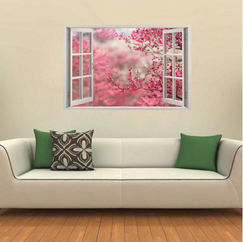 3D White Windows Beautiful Landscape - multicolor C