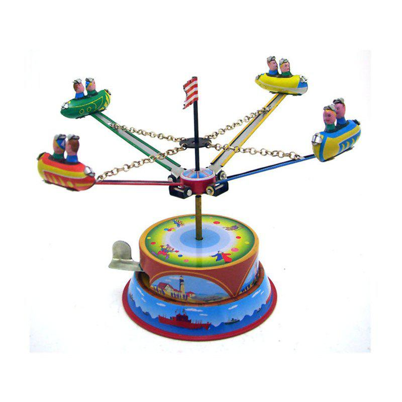 Revolving Tin Amusement Park Toys - multicolor
