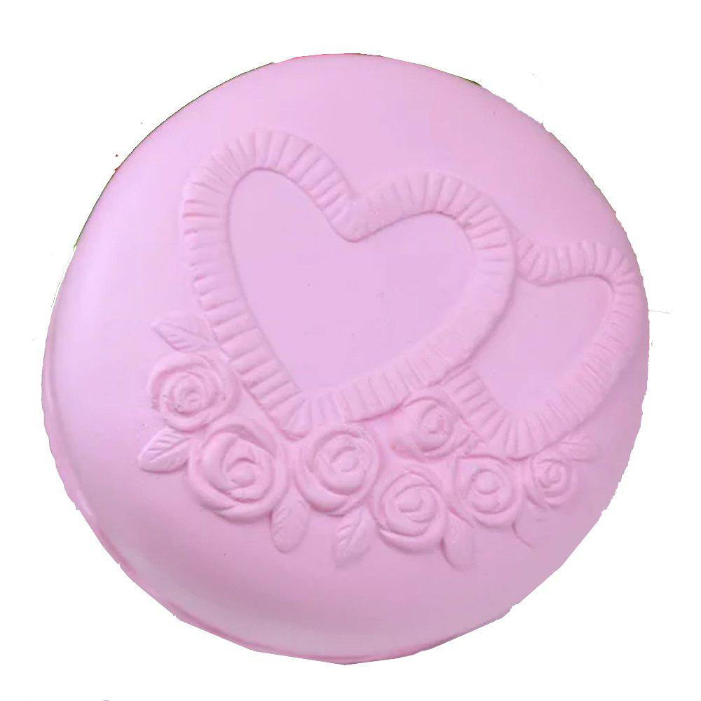 Jumbo Squishy Original Color Cake Toys - PINK