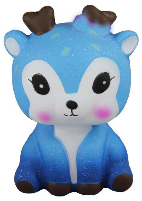 Jumbo Squishy Deer Toys - BUTTERFLY BLUE