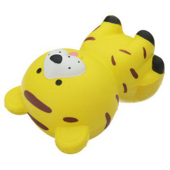 Tiger Jumbo Squishy Toy Slow Rising Packaging Collection Gift - YELLOW