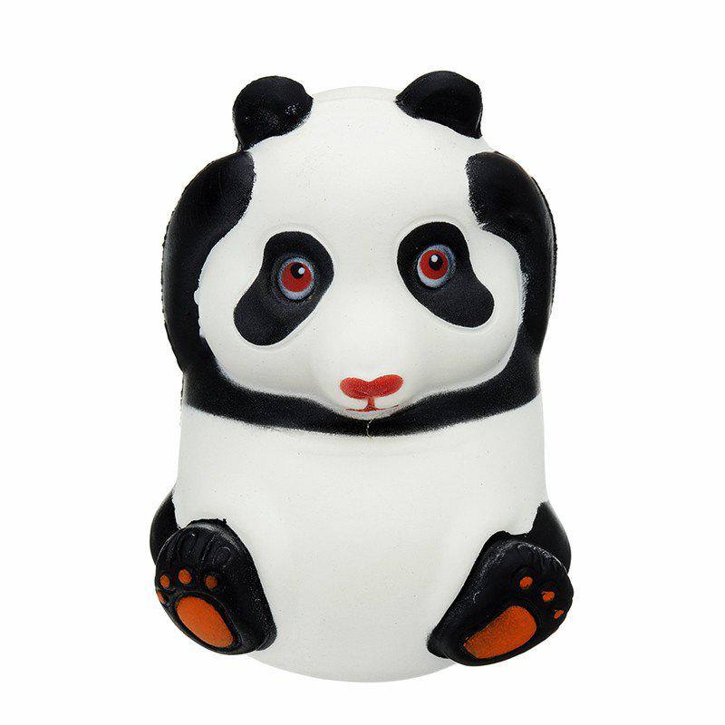 Panda Jumbo Squishy Animal Slow Rising Soft Toy Gift Collection - BLACK