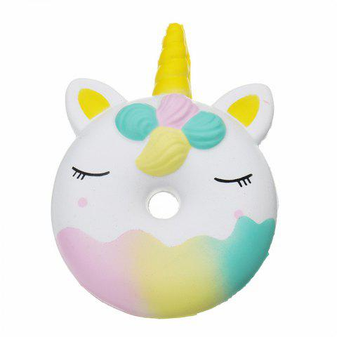 Doughnut Jumbo Squishy Slow Rising Packaging Collection Gift Toy - multicolor A