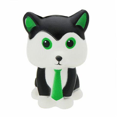 Tie Fox Jumbo Squishy Slow Rising Packaging Collection Gift Soft Toy - multicolor A