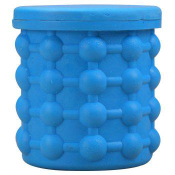 Refrigerated Silicone Ice Bucket Champagne Wine - BLUE