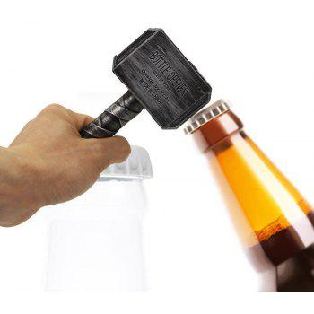 Creative Hammer Shaped  Beer Bottle Wine Wrench Jar Openers - SILVER