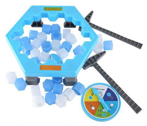Hit An Ice Game To Save A Penguin Puzzle - multicolor