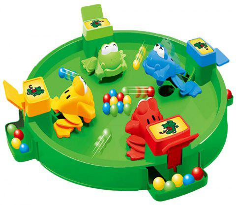 Funny Frogs Eating Beans Children Desktop Toys Interactive Parenting Game Puzzle - multicolor A TYPEC