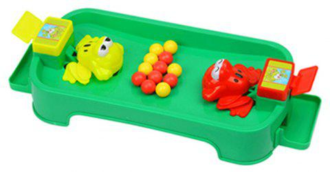 Funny Frogs Eating Beans Children Desktop Toys Interactive Parenting Game Puzzle - multicolor A TYPEA