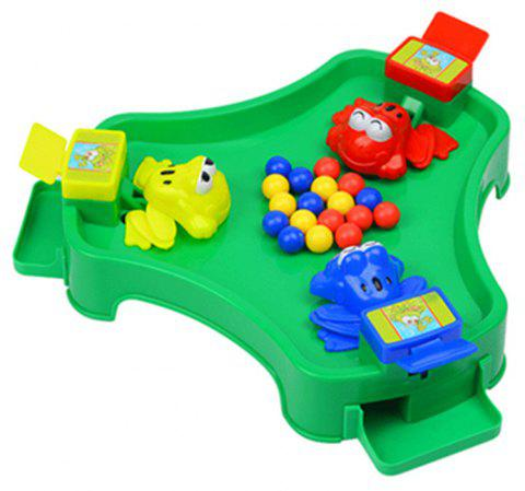 Funny Frogs Eating Beans Children Desktop Toys Interactive Parenting Game Puzzle - multicolor A TYPEB