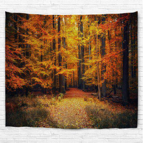 Autumn Park 3D Printing Home Wall Hanging Tapestry for Decoration - multicolor W153CMXL102CM
