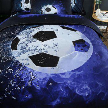 High Quality 3D Printing Football Three-piece - multicolor TWIN
