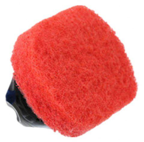 Kitchen Handle Defouling Hard Bottom Cleaning Brush - RED